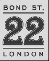 BOND ST. 22 LONDON (fig.)